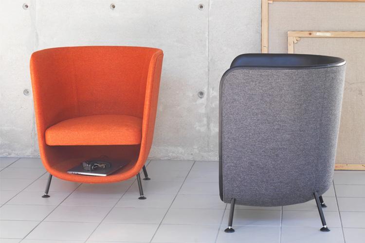 pocket chair mueble de diseño con espacio para que el gato pueda dormir