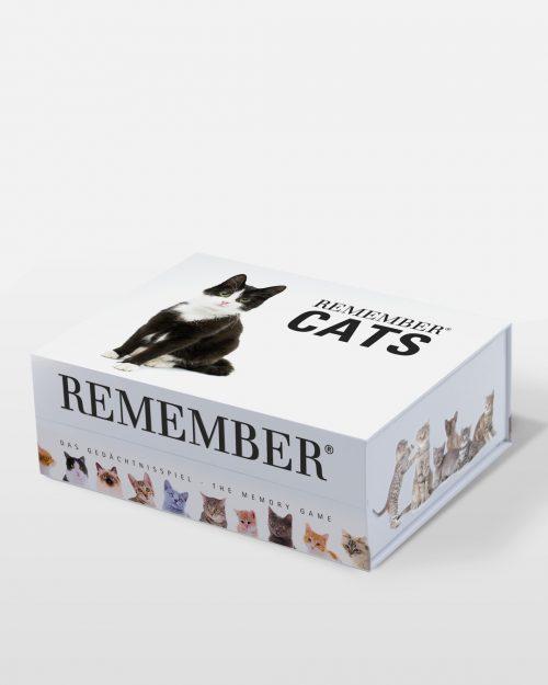 Juego de memoria, memory con fotografías de gatos