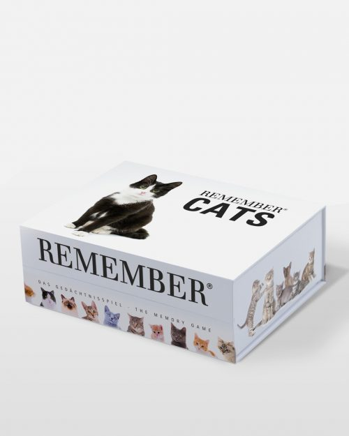REMEMBER memoryspiel mit katzenmotiven